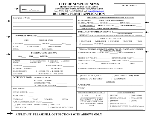 Share Form::BUILDING PERMIT APPLICATION-2254